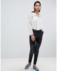 Goosecraft Leather Trousers - Black