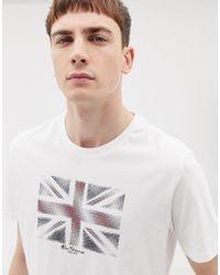 Ben Sherman - Flag T-shirt - Lyst