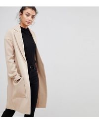 ASOS - Crepe Pocket Detail Coat - Lyst