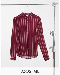 ASOS - Tall - Camicia con vestibilità classica - Lyst