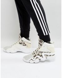 in for Lyst 700 In Trainers Adidas Men Originals White G62110 Zx White q60n7f
