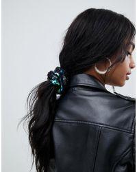 Missguided - Sequin Scrunchie In Multi - Lyst