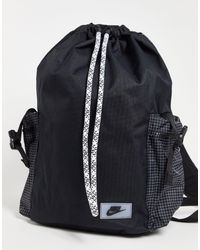 Nike Черный Рюкзак Heritage-черный Цвет