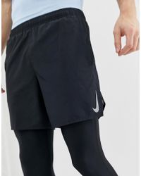 b96120d0eacd Nike Flex Challenger 7 Inch Shorts In Black 856838-011 in Black for ...