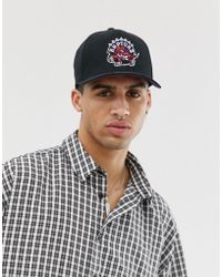 Mitchell   Ness 110 Flexfit Cap Exclusive To Asos in Black for Men ... 9ab30023452f