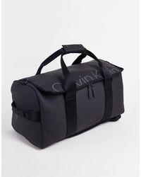 Calvin Klein Waterproof Weekender Holdall Bag - Black