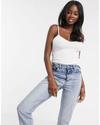 ASOS Ultimate Cami With V-neck - White