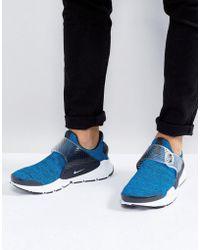 Nike - Sock Dart Se Trainers In Blue 911404-401 - Lyst
