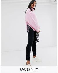 Spanx Spanx - Mama - Leggings effetto jeans alla caviglia - Nero
