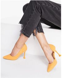 Call It Spring By Aldo Andreaa Vegan Flared Stiletto Court Shoes - Orange