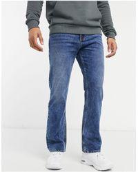Bershka Flared Jeans - Blauw