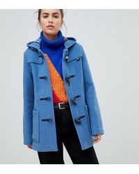 Gloverall - Exclusive Slim Mid Length Duffle Coat - Lyst