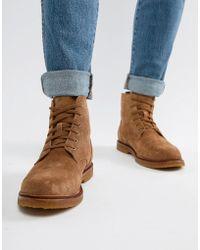Polo Ralph Lauren - Kieren Suede Boots In Tan - Lyst