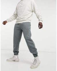TOPMAN Co-ord Oversized Washed sweatpants - Gray