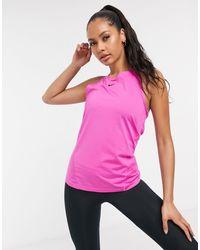 Nike Nike Pro Training - Canotta rosa