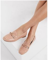 Miss Selfridge Loafers With Knot Buckle Detail - Multicolour