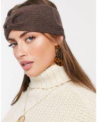 Vero Moda Knitted Headband - Brown