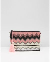 Park Lane - Embellished Clutch Bag - Lyst