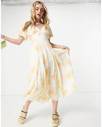 Free People - Чайное Платье Макси С Винтажным Цветочным Принтом Laura-многоцветный - Lyst