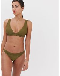 Y.A.S – Strukturierte Bikinihose - Mehrfarbig