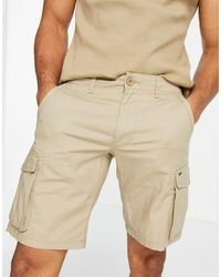 Only & Sons Pantaloncini cargo color cuoio - Marrone