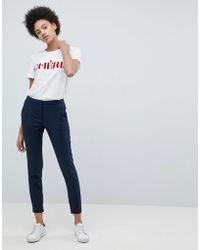 SELECTED - Femme Cropped Tailored Pants - Lyst