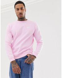 Nike Club - Sweatshirt in Rosa mit Rundhalsausschnitt - Pink