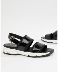 Sixtyseven - Sixty Seven Flat Sandals - Lyst
