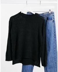 New Look Crew Neck Sweater - Black
