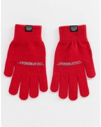 Cheap Monday - Red Magic Gloves - Lyst