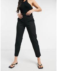 SELECTED Pantaloni corti slim neri - Nero