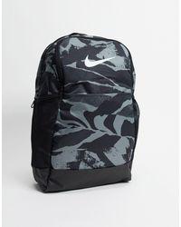 Nike - Черный Камуфляжный Рюкзак - Lyst
