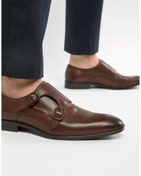 ASOS Zapatos Monk - Marrón
