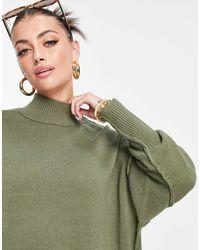 Rhythm - Пляжное Платье-джемпер Цвета Хаки -зеленый Цвет - Lyst