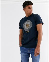 Lambretta Target T-shirt - Blue