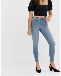 Miss Selfridge Lizzie Skinny Jeans - Blue