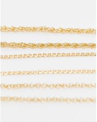 TOPSHOP Bracelet Multipack X 3 - Metallic