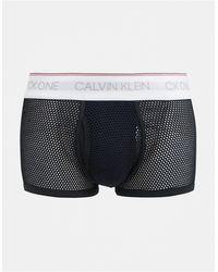Calvin Klein Сетчатые Боксеры-брифы Ck One-черный