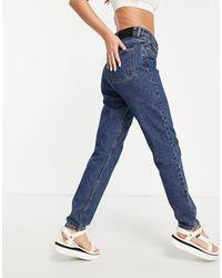 WÅVEN Mom Jeans - Blue