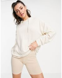 Lindex Felicity Super Soft Lounge Hoodie - White