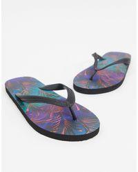 ASOS Flip Flops - Blue