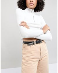 ASOS - Long Tipped Western Waist And Hip Jeans Belt - Lyst