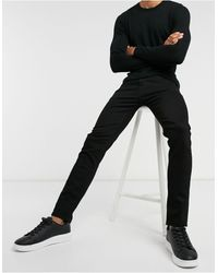 SELECTED Skinny Jeans Organic Cotton Black