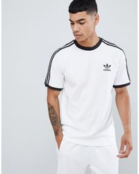 adidas Originals – adicolor – California – T-Shirt - Weiß