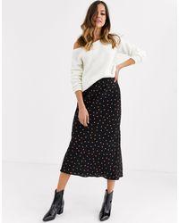 New Look - Bias Cut Skirt - Lyst