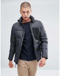 Penfield - Hanlon Down Quilted Jacket Ripstop In Black - Lyst
