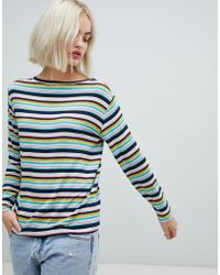 Pepe Jeans - Gina Stripe Long Sleeved T-shirt - Lyst