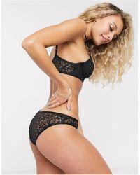 Free People Petra Bikini Brief - Black