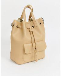 Claudia Canova Duffle Backpack - Natural