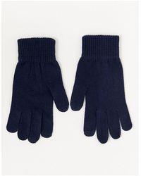 ASOS Touchscreen Handschoenen - Blauw